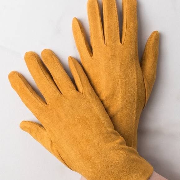 Akira Accessories - Faux Suede Gloves